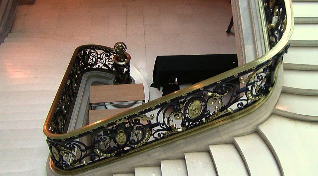 Escalier des Sciences en Sorbonne